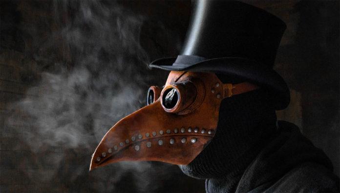Máscara contra la peste negra