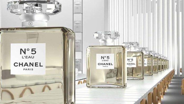 Botellas de Chanel No. 5