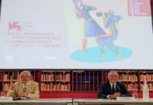 Presentación del Festival de Cine de Venecia