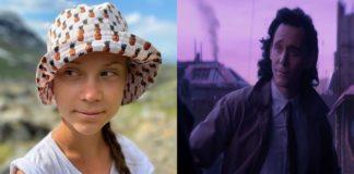 Greta Thunberg y Loki
