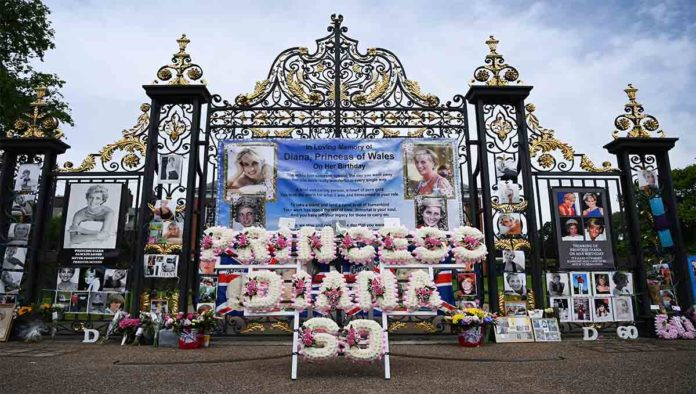 Homenaje a la princesa Diana