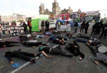Protesta por la igualdad en México