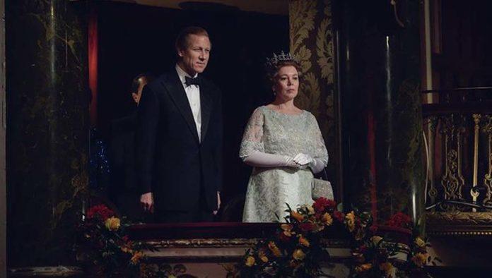 Reina Isabel II en The Crown