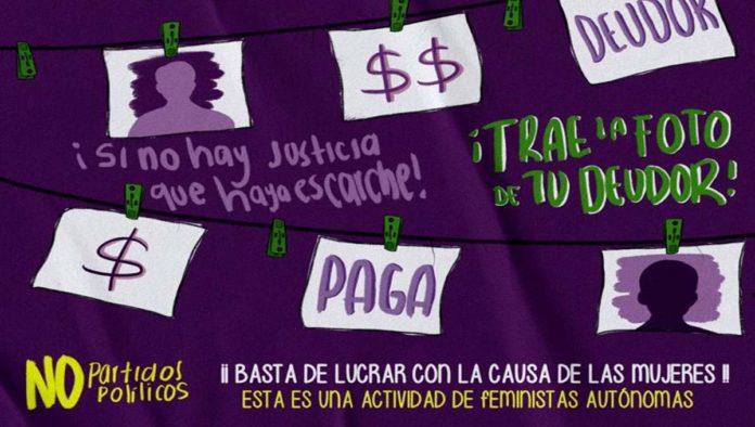 Cártel sobre deudores alimenticios en Oaxaca