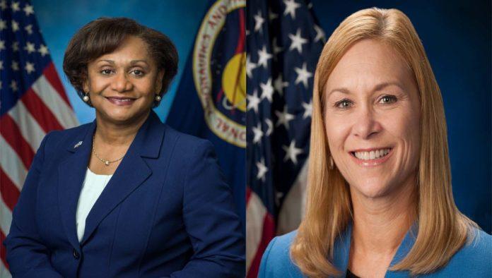 Vanessa Wyche y Janet Petro