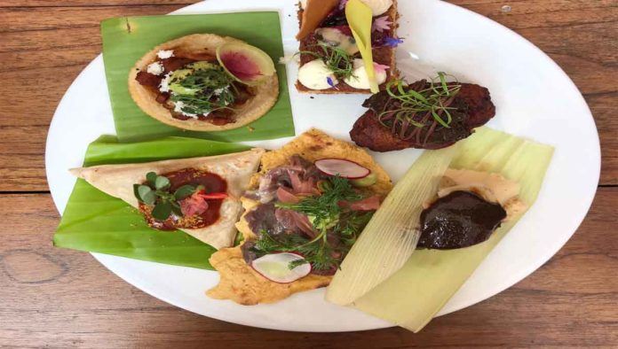 Comida que se probará en Oaxaca Flavors