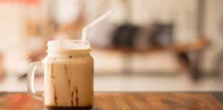 Café con vainilla helado