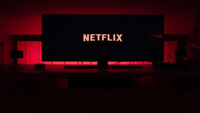 Pantalla con Netflix