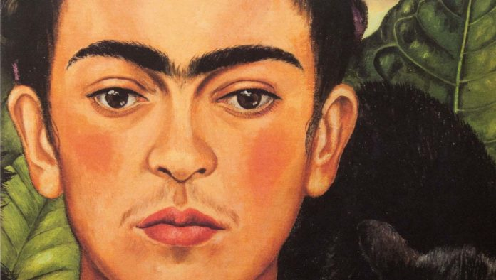 Rostro de Frida Kahlo
