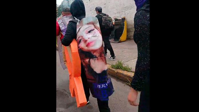 Feministas exigen justicia por el feminicidio de Fernanda Sabalza