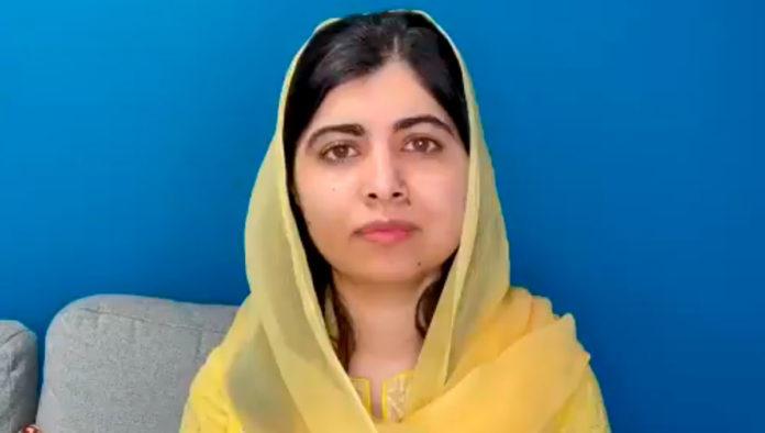 Malala Yousafzai pide al mundo defender a las mujeres y niñas en Afganistán