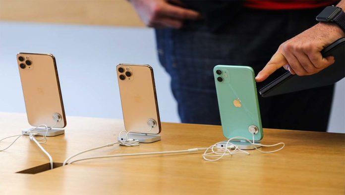 iPhones de Apple
