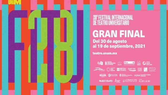 Póster del Festival Internacional de Teatro Universitario