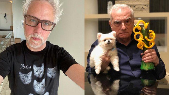 James Gunn y Martin Scorsese