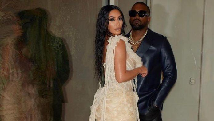 ¿Renovaron votos? Kim Kardashian se viste de novia en evento de Kanye West