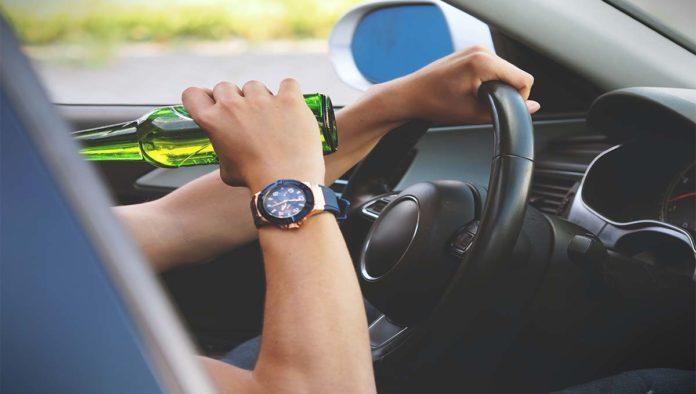 Cancelar licencia de conducir por manejar en estado de ebriedad