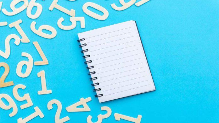 Libreta para hacer numerología