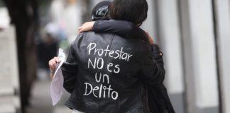 Protesta feminista en CDMX