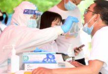 Realizan pruebas de COVID-19 en China
