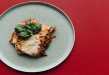 Lasagna hecha en sartén
