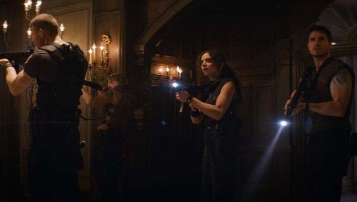 Escena de Resident Evil