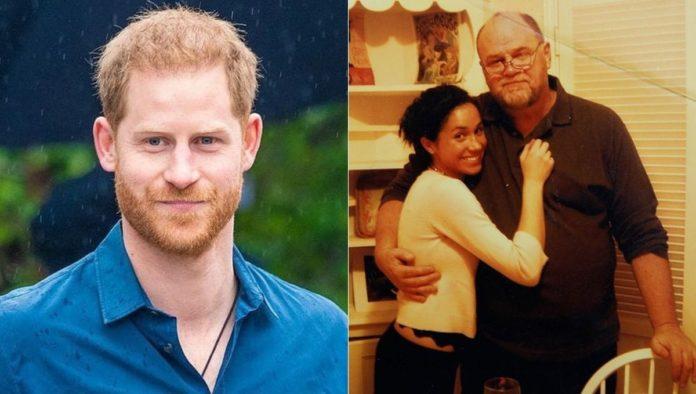 Thomas Markle responsabiliza al príncipe Harry de toda la polémica con Meghan
