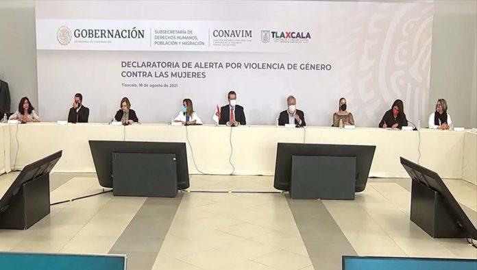 Declaración alerta de género en Tlaxcala