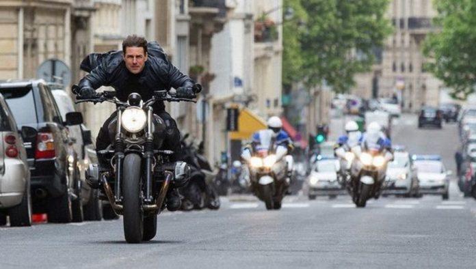 """Esta es la acrobacia mortal que Tom Cruise hizo para """"Misión Imposible 7"""""""