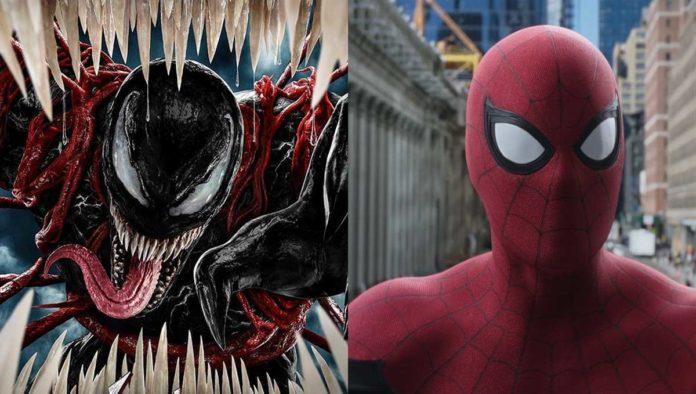 Venom y Spider Man