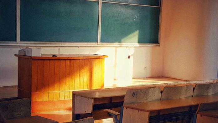 Salón de universidad