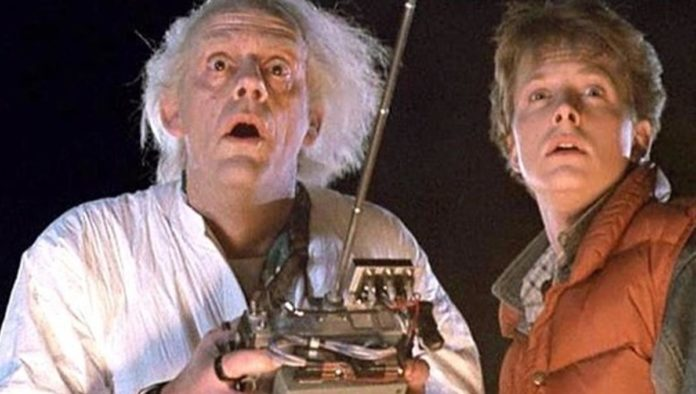Dr. Brown y Marty McFly