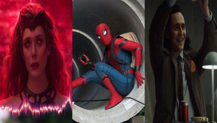 Wanda, Spider-Man y Loki