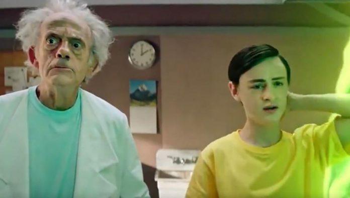 """Christopher Lloyd se vuelve Rick Sanchez en live action de """"Rick & Morty"""""""