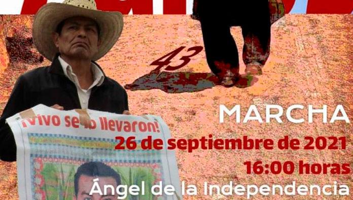 Marcha estudiantes Ayotzinapa