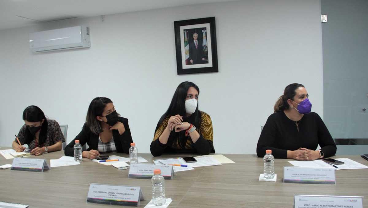 Firma de Convenio contra la violencia de género