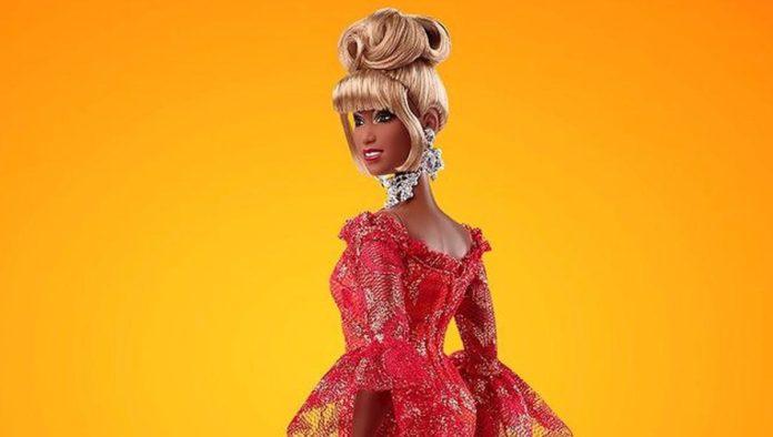 Muñeca de Celia Cruz