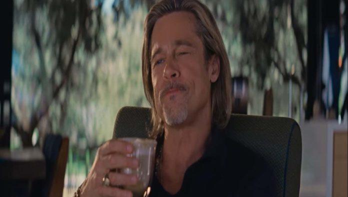 Brad Pitt comercial café