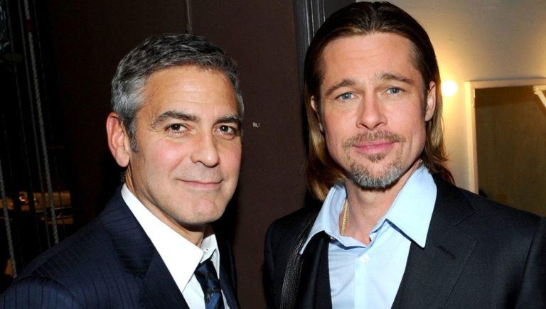 ¡Se acabó la pelea! Brad Pitt y George Clooney protagonizarán una película