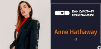 Anne Hathaway, Eva Longoria y más estrellas piden vacunas COVID-19 para países en desarrollo