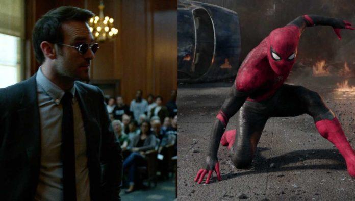 Charlie Cox y Spider Man