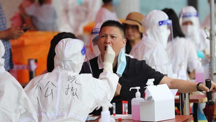 Centro de prueba en Xiamen, China