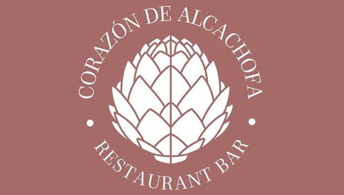 Logo de corazón de alcachofa