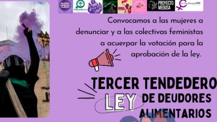 Colocan tendedero de deudores alimentarios en Oaxaca; Congreso local aprueba ley en favor de las infancias