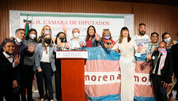 Salma Luévano y María Clemente son las primeras diputadas federales trans