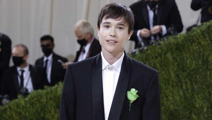 Elliot Page en la Met Gala 2021