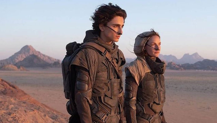 Escena de la película Dune