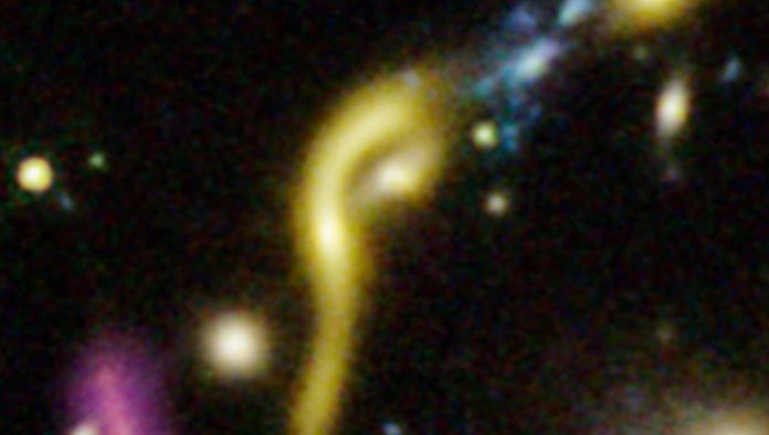 Hubble detecta galaxias