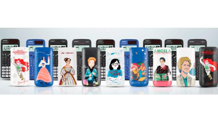 Casio lanza calculadoras ilustradas con mujeres científicas