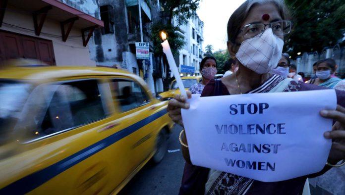 Protesta conta la violencia hacia las mujeres