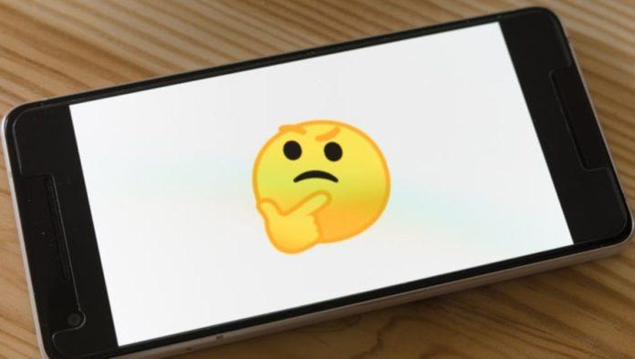 Pensar demasiado emoji